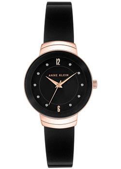 fashion наручные  женские часы Anne Klein 3106BKRG. Коллекция Crystal