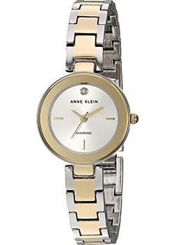 fashion наручные  женские часы Anne Klein 3151SVTT. Коллекция Diamond