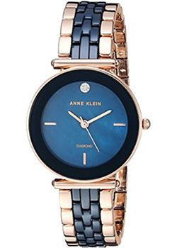 fashion наручные  женские часы Anne Klein 3158NVRG. Коллекция Diamond