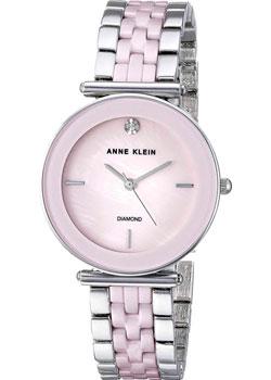 Fashion наручные женские часы Anne Klein 3159LPSV. Коллекция Diamond фото