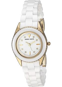 fashion наручные  женские часы Anne Klein 3164WTGB. Коллекция Ceramics.