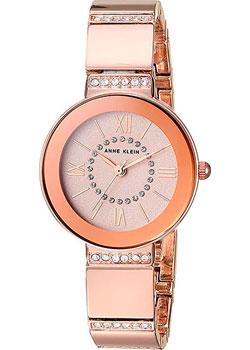 fashion наручные  женские часы Anne Klein 3190RGRG. Коллекция Crystal.