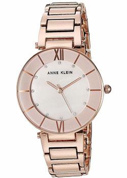 fashion наручные  женские часы Anne Klein 3198LPRG. Коллекция Crystal.