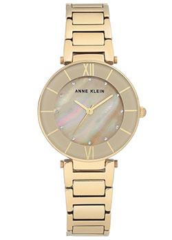 fashion наручные  женские часы Anne Klein 3198TNGB. Коллекция Crystal.
