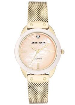 fashion наручные  женские часы Anne Klein 3258LPGB. Коллекция Diamond.