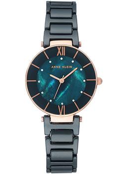 Fashion наручные женские часы Anne Klein 3266NVRG. Коллекция Ceramics фото