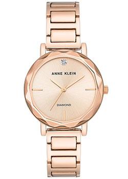 fashion наручные  женские часы Anne Klein 3278RGRG. Коллекция Diamond.