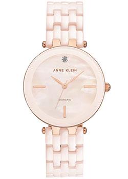 fashion наручные  женские часы Anne Klein 3310LPRG. Коллекция Diamond.