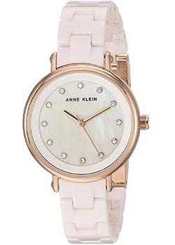 Fashion наручные женские часы Anne Klein 3312LPRG. Коллекция Ceramics фото