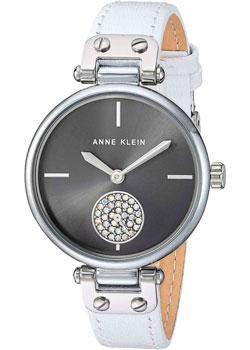 fashion наручные  женские часы Anne Klein 3381GYWT. Коллекция Crystal.