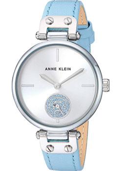 fashion наручные  женские часы Anne Klein 3381SVLB. Коллекция Crystal.