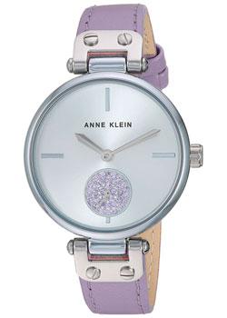 fashion наручные  женские часы Anne Klein 3381SVLV. Коллекция Crystal.