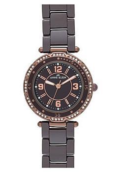 fashion наручные  женские часы Anne Klein 9703BMBN. Коллекция Ceramics