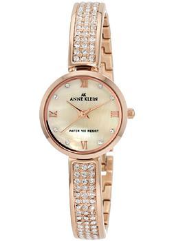 fashion наручные  женские часы Anne Klein 9786CMRG. Коллекция Crystal