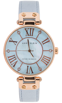 fashion наручные  женские часы Anne Klein 9918RGLB. Коллекция Crystal Bestwatch 4680.000