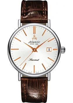 Швейцарские наручные  женские часы Atlantic 10351.41.21R. Коллекция Seacrest