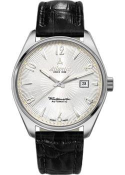 Швейцарские наручные  женские часы Atlantic 11750.41.25S. Коллекция Worldmaster