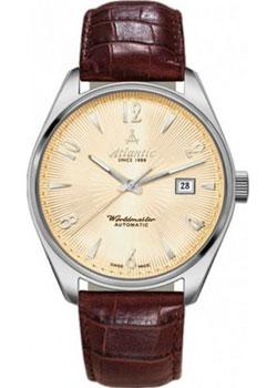 Швейцарские наручные  женские часы Atlantic 11750.41.35S. Коллекция Worldmaster