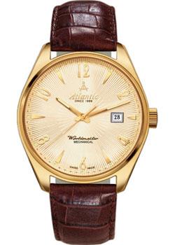 Швейцарские наручные  женские часы Atlantic 11750.45.35G. Коллекция Worldmaster
