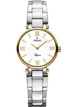 Швейцарские наручные  женские часы Atlantic 29033.43.28G. Коллекция Elegance