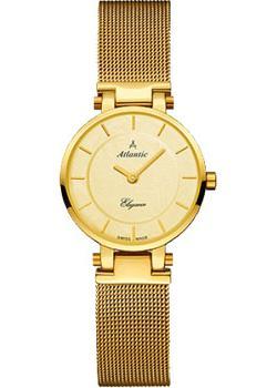 Швейцарские наручные  женские часы Atlantic 29035.45.31. Коллекция Elegance
