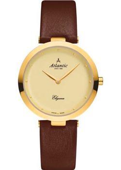 Швейцарские наручные  женские часы Atlantic 29036.45.31L. Коллекция Elegance