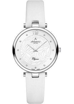 Швейцарские наручные  женские часы Atlantic 29037.41.21L. Коллекция Elegance