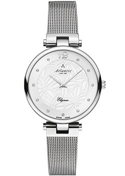 Швейцарские наручные  женские часы Atlantic 29037.41.21MB. Коллекция Elegance