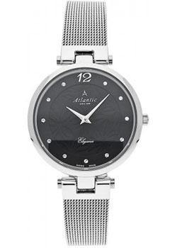 Швейцарские наручные  женские часы Atlantic 29037.41.61MB. Коллекция Elegance