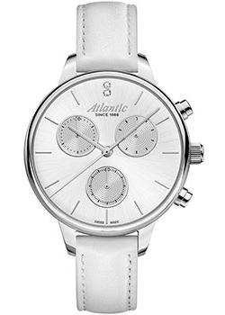 Швейцарские наручные  женские часы Atlantic 29430.41.21. Коллекция Elegance