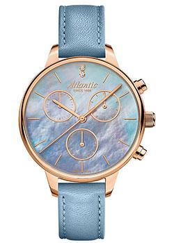 Швейцарские наручные  женские часы Atlantic 29430.44.57. Коллекция Elegance