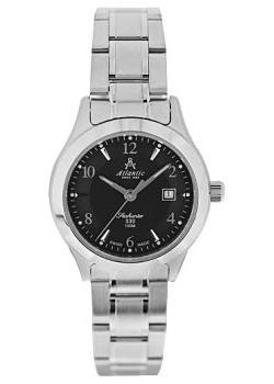 Швейцарские наручные  женские часы Atlantic 31365.41.65. Коллекция Seahunter