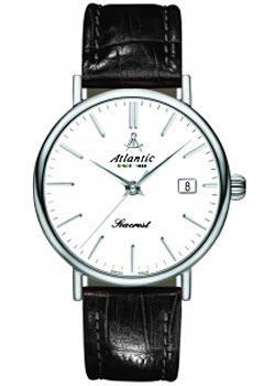 Купить Швейцарские наручные мужские часы Atlantic 50341.41.11. Коллекция Seacrest