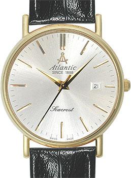 Купить Швейцарские наручные мужские часы Atlantic 50341.45.21. Коллекция Seacrest