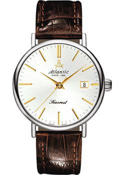 Купить Швейцарские наручные мужские часы Atlantic 50351.41.21G. Коллекция Seacrest