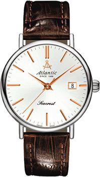 Купить Швейцарские наручные мужские часы Atlantic 50351.41.21R. Коллекция Seacrest