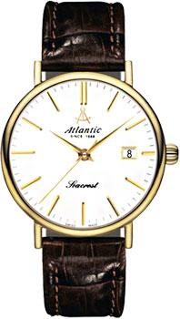 Купить Швейцарские наручные мужские часы Atlantic 50351.45.21. Коллекция Seacrest