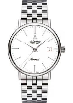 Купить Швейцарские наручные мужские часы Atlantic 50356.41.11. Коллекция Seacrest