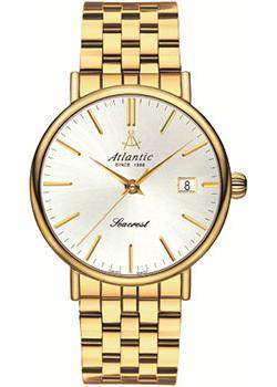 Купить Швейцарские наручные мужские часы Atlantic 50356.45.21. Коллекция Seacrest