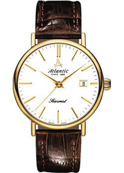 Швейцарские наручные  мужские часы Atlantic 50751.45.11. Коллекция Seacrest