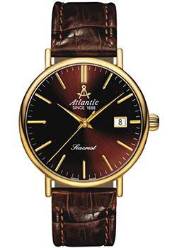 Швейцарские наручные  мужские часы Atlantic 50751.45.81. Коллекция Seacrest