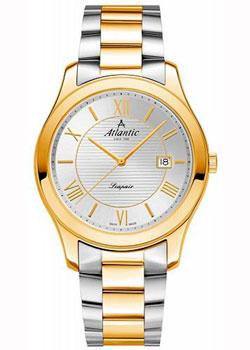 Швейцарские наручные мужские часы Atlantic 60335.43.28G. Коллекция Seapair фото