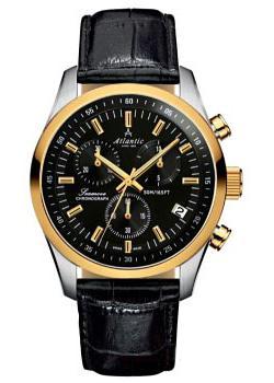 Швейцарские наручные мужские часы Atlantic 65451.43.61. Коллекция Seamove фото