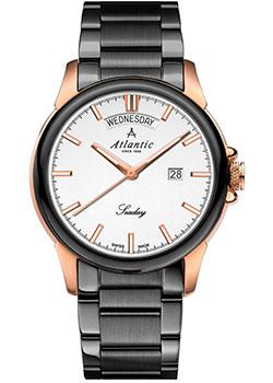 Швейцарские наручные мужские часы Atlantic 69555.43.21R. Коллекция Seaday фото
