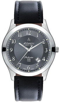 Швейцарские наручные  мужские часы Atlantic 71360.41.43. Коллекция Seahunter 100 от Bestwatch.ru