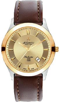 Купить Швейцарские наручные мужские часы Atlantic 71360.43.31. Коллекция Seahunter 100