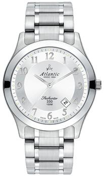 Швейцарские наручные  мужские часы Atlantic 71365.41.23. Коллекция Seahunter фото