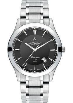 Швейцарские наручные мужские часы Atlantic 71365.41.61. Коллекция Seahunter