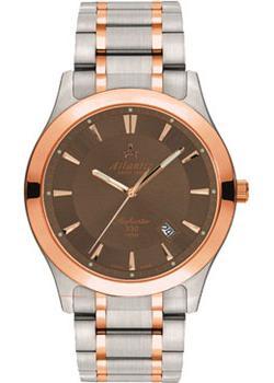 Купить Швейцарские наручные мужские часы Atlantic 71365.43.81R. Коллекция Seahunter 100