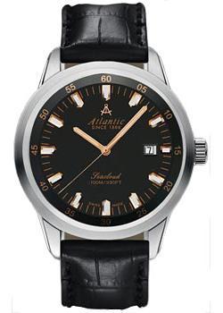 Швейцарские наручные мужские часы Atlantic 73360.41.61R. Коллекция Seacloud фото